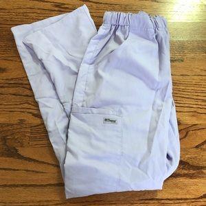 Grey's Anatomy Slim Fit Scrub Pants Lavender XXS